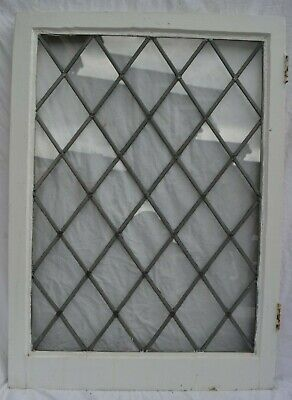 Diamond leaded light stained glass window sash R1104b x1. DELIVERY OPTION!