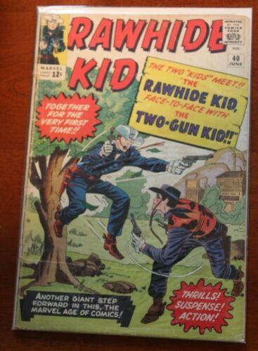 Rawhide Kid # 40 LOW GRADE Cond. TWO GUN KID APP