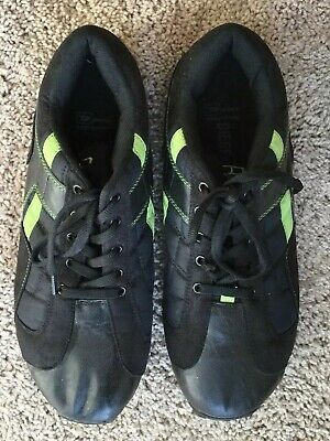 Diesel Shoes Black Leather/Fabric Sneakers Lace Up Men's Sz 11 EU 45 for sale  Shipping to India