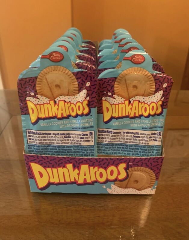 Dunkaroos pack of 12!!! New in box!!