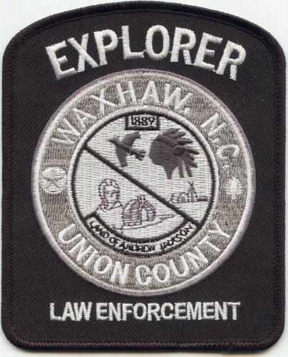 WAXHAW Union County NORTH CAROLINA NC EXPLORER POLICE PATCH