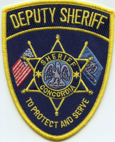 CONCORDIA PARISH LOUISIANA To Protect And Serve DEPUTY SHERIFF POLICE PATCH