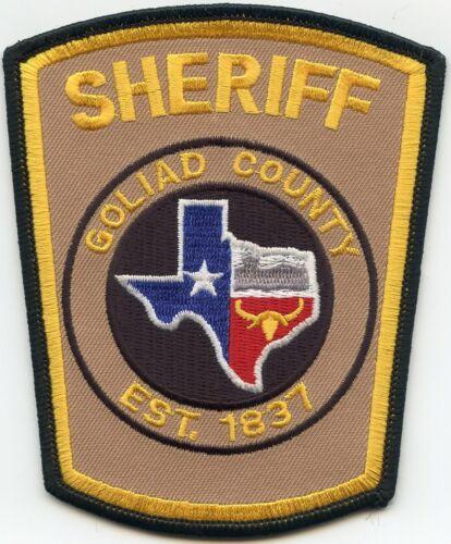 GOLIAD COUNTY TEXAS TX SHERIFF POLICE PATCH