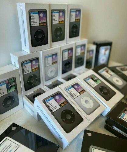 New Apple iPod Classic 7th Generation 160GB Black  MP3 MP4 Player sealed
