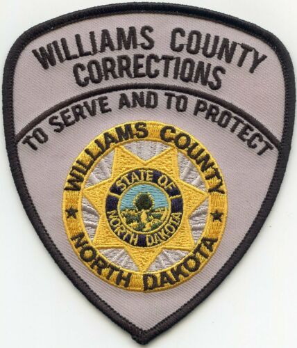 WILLIAMS COUNTY NORTH DAKOTA ND CORRECTIONS DOC SHERIFF POLICE PATCH