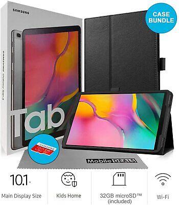 Samsung Galaxy Tab A SM-T510 10.1-Inch 32GB Tablet + Case & SD Card (Silver) NEW