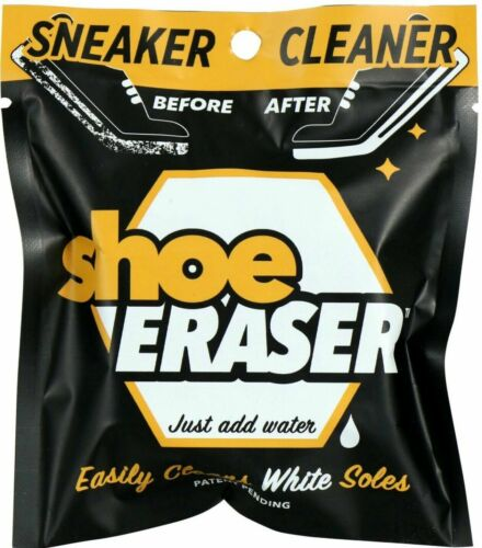 """(2) NEW Sneaker Cleaner SHOE ERASER """"Just Add Water"""" Clean White Soles Free Ship"""