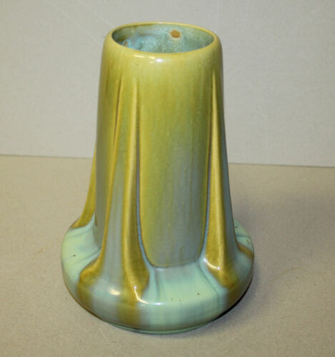Antique Fulper Pottery Buttress Vase – Stamped Fulper on Bottom