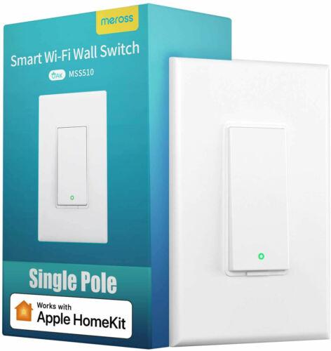 meross Apple Homekit Smart Light Switch for Alexa Google Assistant SmartThings