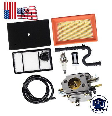 Carburetor With Air Filter Tune Up Kit For Stihl Ts 400 Concrete Cut-off Saw