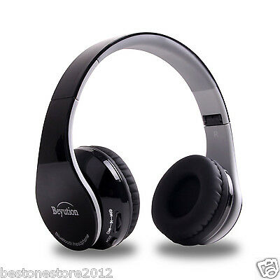 Holiday Gift--- Bluetooth Headphone built Mic with Noise can