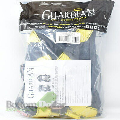 Guardian Fall Protection 11166 Seraph Harness With Roller Buckles Xl-xxl