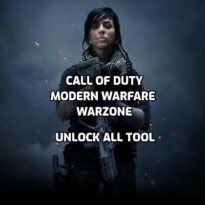 [PC] Call of Duty: Warzone UnlockAll Tool - Camos, Operators, Scopes, Cars...