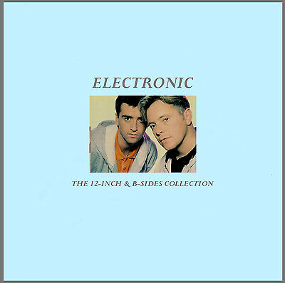 ELECTRONIC  The 12-inch & B-Sides Collection 2-cd  (29 Tracks!) New Order/Smiths - Track Orders