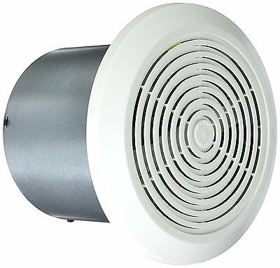 "Mobile Home Ventline Bath Exhaust Fan- 7"" Round w/ White Cover"