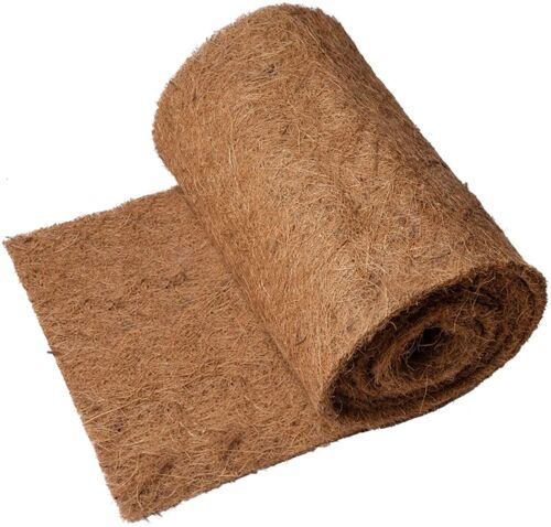 """120""""×12"""" Coco Liner Roll, Thick and Sturdy Coconut Fiber Mat"""