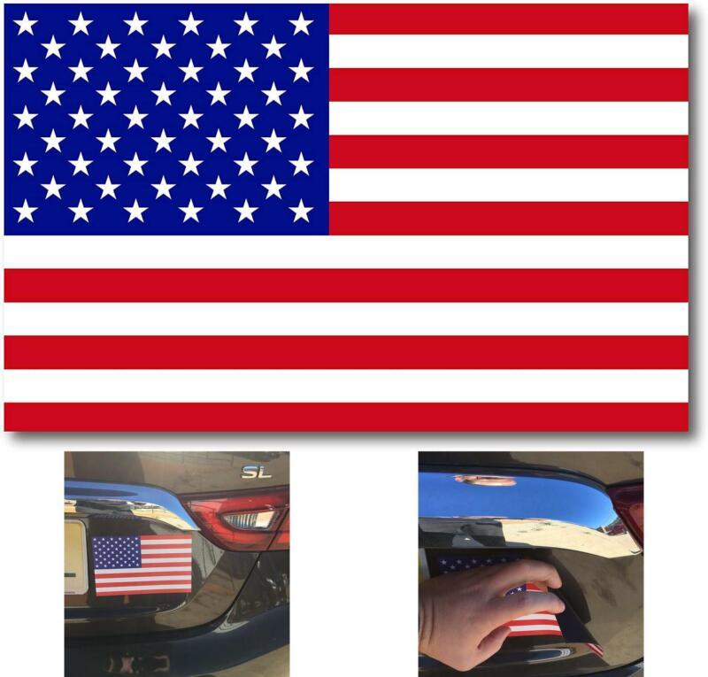 American Flag Car Magnet Decal - 5 x 8 Heavy Duty for Car Tr