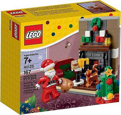 LEGO Holiday Seasonal 40125 Santa's Visit Christmas 2015 RETIRED
