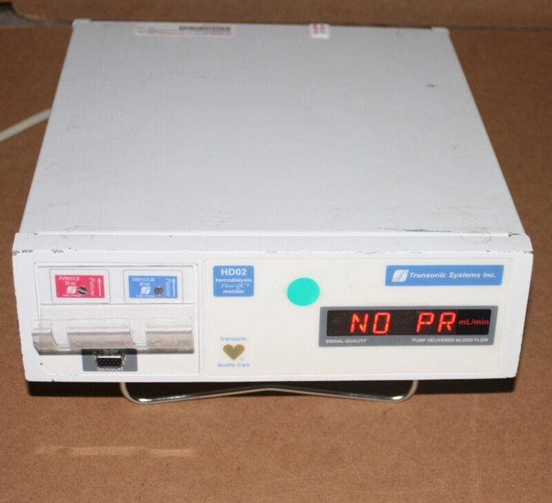 Transonic HD02 Hemodyalysis Monitor