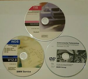 BMW TIS 02/2009,ETK 11/2015,WDS V 12.0 E60 E38 E81 E90 E63 E65 E66 R50 ect. Mini