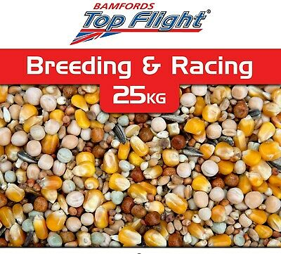 Pigeon Bird Food Seed Breeding and Racing by Bamfords Top Flight 20kg BMFD DS