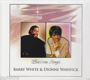 2 CD - BARRY WHITE & DIONNE WARWICK / PLATINUM SONGS (NEU)