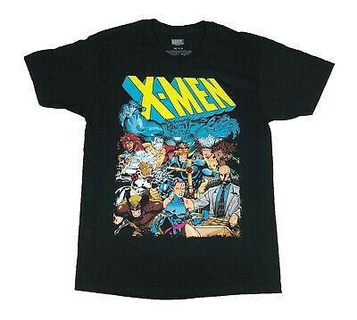 Marvel X Men Retro Wolverine Rogue Psylocke Storm Beast Cyclops Mens T - Wolverine T Shirt
