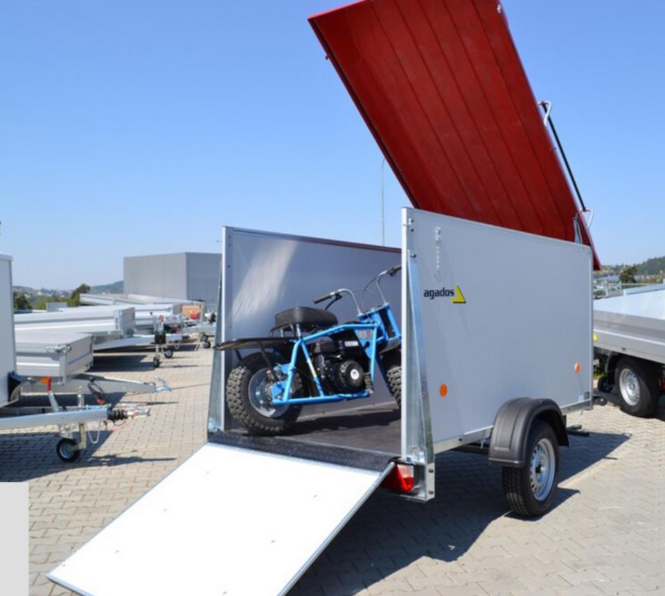 Agados Anhänger VZ 27 O Multitransporter mit Deckel 1200 kg in Weiden (Oberpfalz)