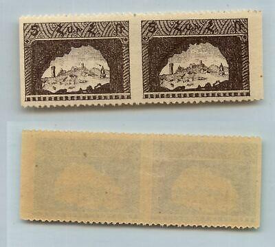 Armenia 🇦🇲 1921 SC 281 mint missing perf pair. rtb7721a