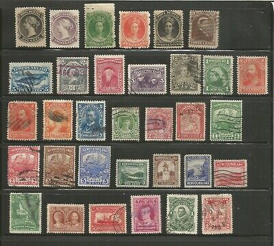 Nice small lot mh/used Nova-Scotia & Newfoundland-1800's-1930's