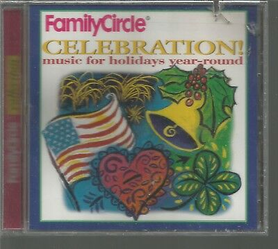 Family Halloween Music (Family Circle Celebrations Music for Holiday Year-Round Various CD 1994 BMG)
