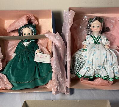 (2) Madame Alexander Dolls - SCARLETTS JUBILEE #1500 & SCARLETT #1591  14
