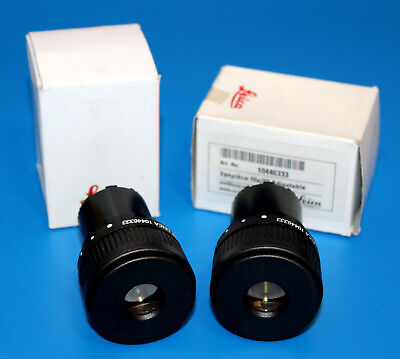 New Pair Leica 10x23 Adjustable Microscope Eyepiece For S Series 30mm 10446333