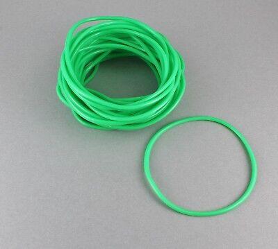 Green set pack lot of 30 jelly rubber gummy bangle bracelet 80s style](80s Jelly Bracelets)