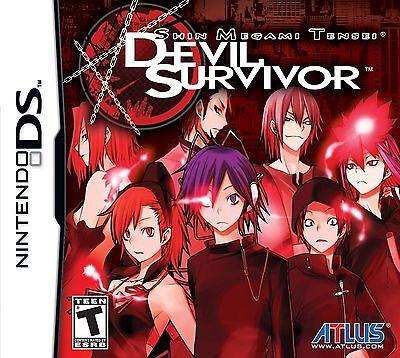 Shin Megami Tensei  Devil Survivor   Nintendo Ds Brand New