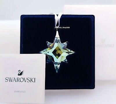 NEW IN GIFT BOX SWAROVSKI BRAND STAR CRYSTAL ORNAMENT CHRISTMAS DISPLAY 5545611