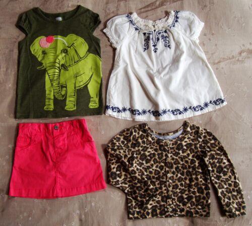 Euc Lot Of 4 Girls 4t Boho Elephant Old Navy Gap Children