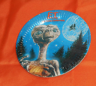 vintage E.T. THE EXTRA-TERRESTRIAL PAPER PLATES by C.A. Reed new/sealed ](Spongebob The Paper)