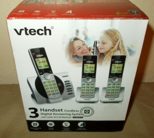NEW VTech CS6929-3 Cordless Digital Answering 3-Handset Phone System