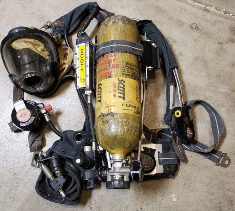 SCOTT 4.5 SCBA AIRPACK COMPLETE