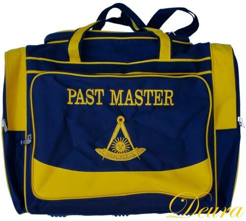 MASONIC PAST MASTER PM DEURA® CORDURA DUFFEL Travel  BAG Top Quality