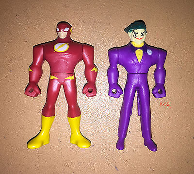 MIGHTY minis JUSTICE LEAGUE ACTION mini FIGURE lot THE JOKER + FLASH dc  for sale  Shipping to India