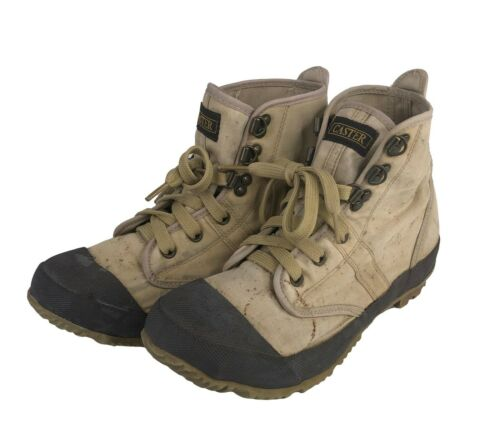 Hodgman Caster Womens Fishing Wading Boots Steel Shank Tan Size 6