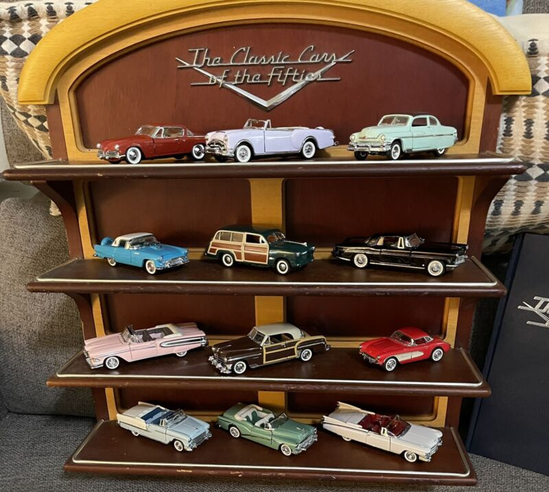 Classic Cars Of The 50's ( Franklin Mint)