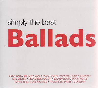 SEALED - Simply The Best Ballads 2 CD's + 1 DVD Various Artist - BRAND (Best Ballads)