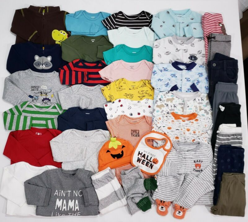 Baby Boys 9 Months Clothes Lot Carter