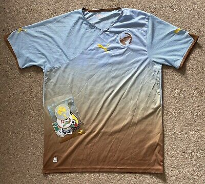 Puma Unity Special Edition Africa Third World Cup 2010 Football Shirt Large image