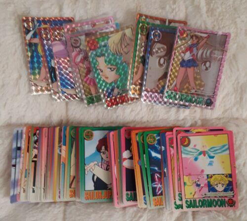 Vintage Official Sailor Moon Graffiti Prism Regular Card Lot 148 Cards
