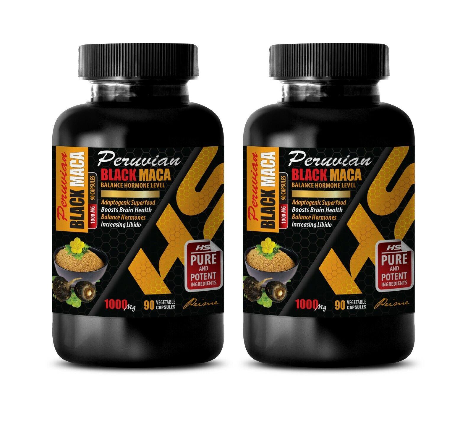 boost energy supplement - PERUVIAN BLACK MACA - black maca extract powder 2B