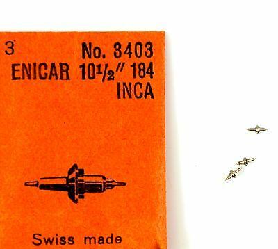 Tools & Parts New Old Stock Enicar 672 Set Lever Watch Part #443 Jewelry & Watches